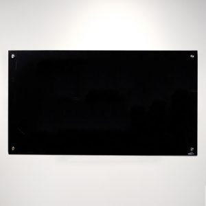 Black Magnetic Glassboard 1200mm x 900mm